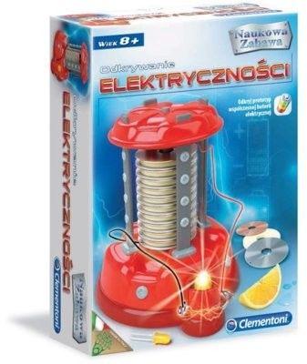 Clementoni - Odkrywanie elektryczności 60886