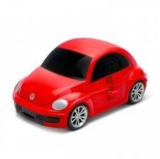 Volkswagen the Beetle - czerwony - Walizka samochód Welly Ridaz
