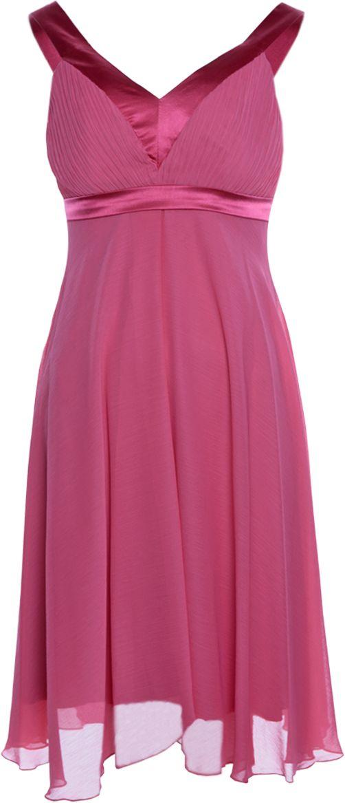 Sukienka FSU152 KORALOWY