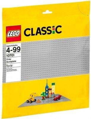 LEGO Classic - Szara płytka konstrukcyjna 10701