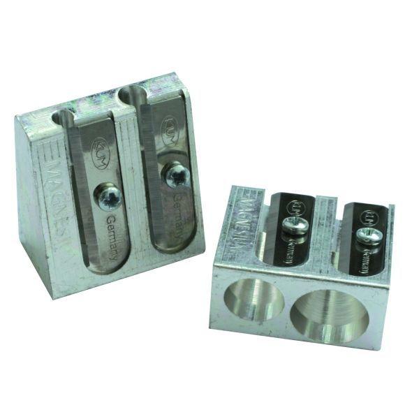 Temperówka metalowa KUM 410M dwuotworowa - X02663