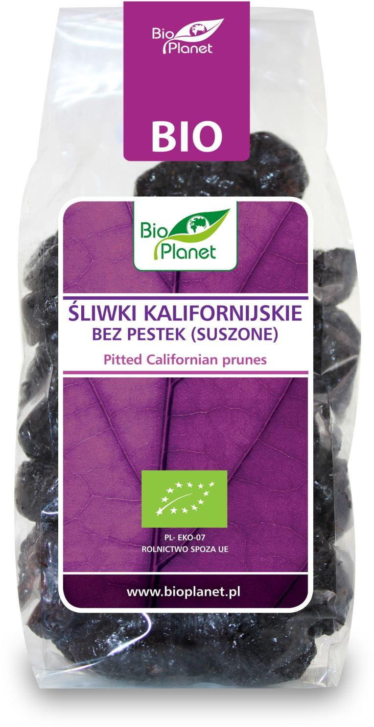 Śliwki kalifornijskie bez pestek bezglutenowe bio 200 g - bio planet