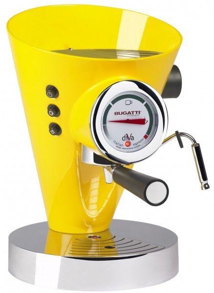 Casa Bugatti - Ciśnieniowy Ekspres do Kawy DIVA Żółty