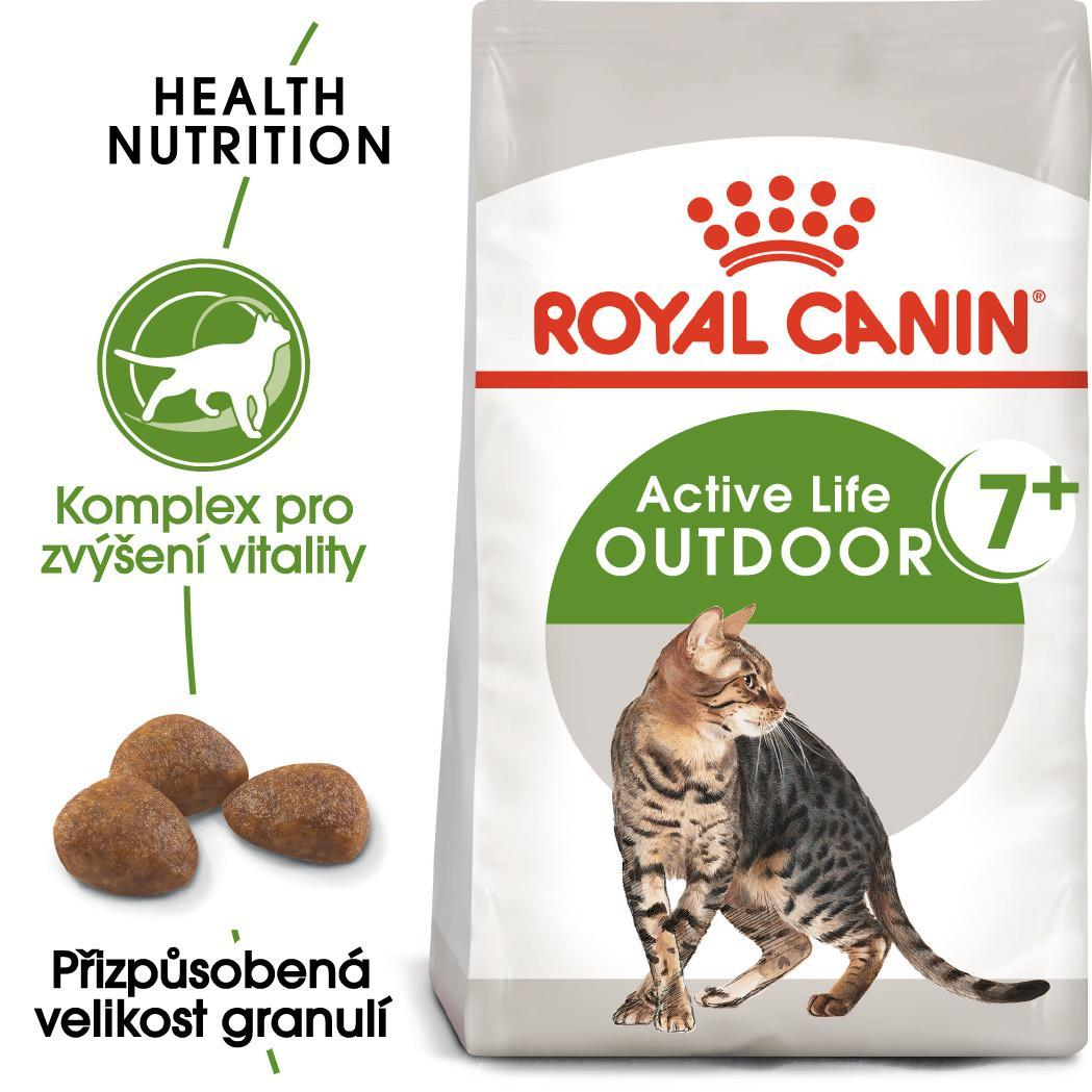 Royal Canin cat OUTDOOR + 7
