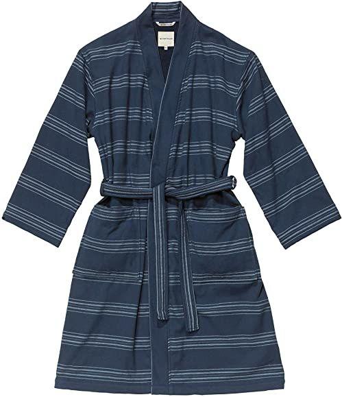 TOM TAILOR 0100509 szlafrok Wellness Kimono, granatowy, L