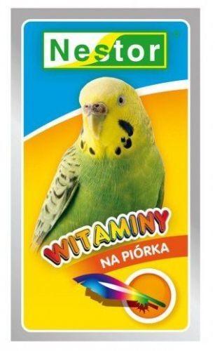 Nestor Nestor Witaminy dla małych papug - na piórka