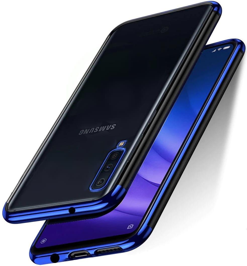 Etui Blue Hybrid Samsung Galaxy A50