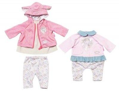 Baby Annabell - Różowe ubranko z niebieskim kołnierzykiem 700105