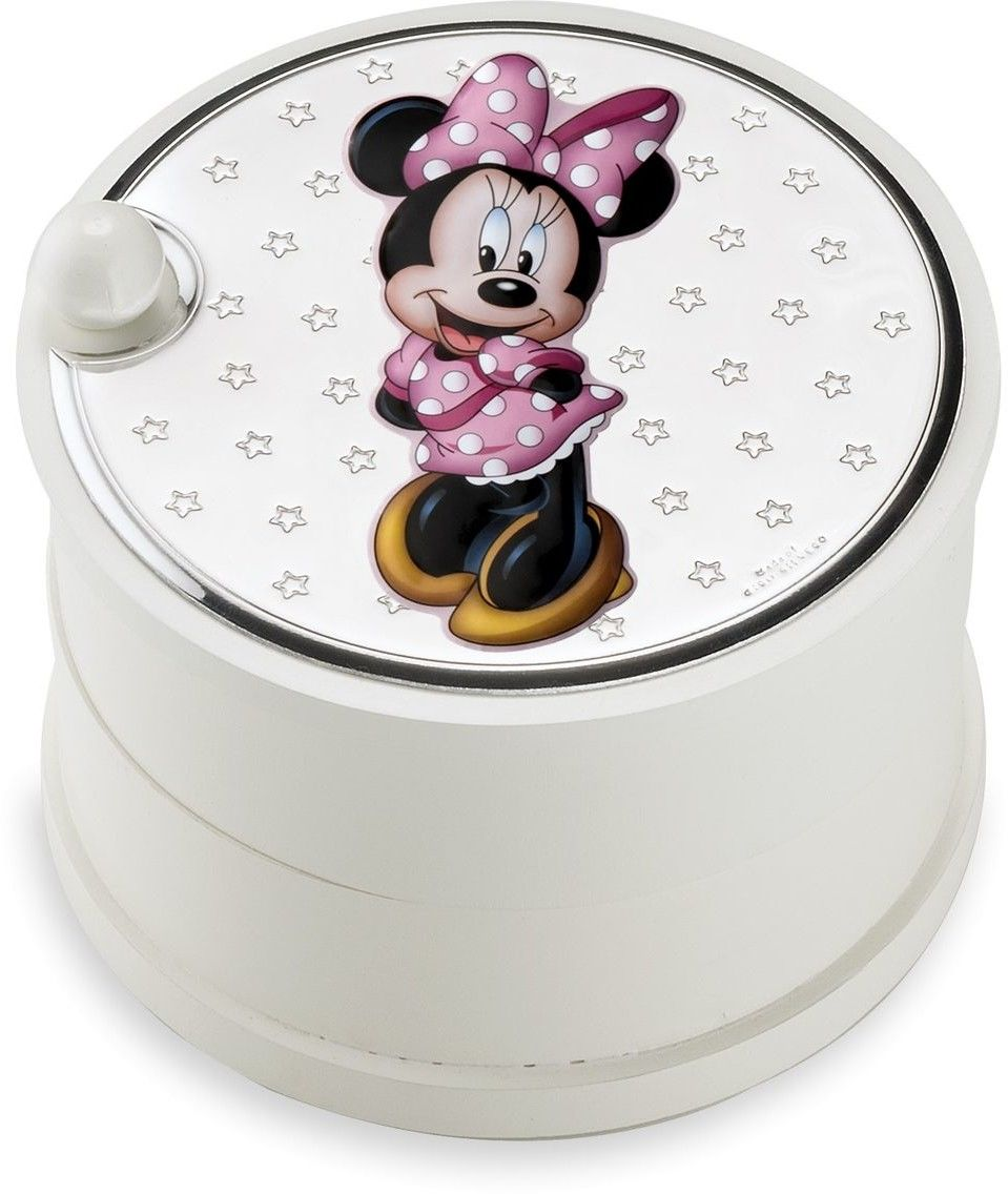 Szkatułka dziecięca Disney Rozmiar: Fi 12 cm H9 cm Kolor: Różowy SKU: VD416