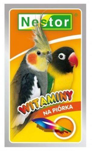 Nestor Nestor Witaminy dla średnich papug - na piórka