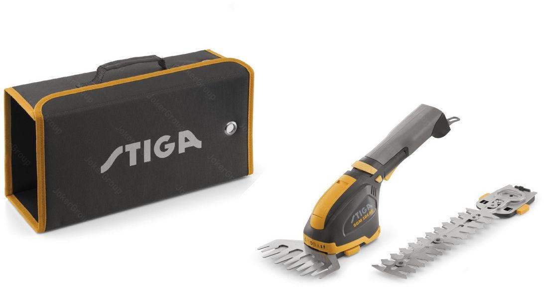Nożyce do krzewów i trawy SGM 102 AE STIGA Akumulatorowe + Akumulator 2,5 Ah + Ładowarka