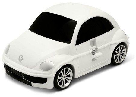 Volkswagen the Beetle - biały - Walizka samochód Welly Ridaz
