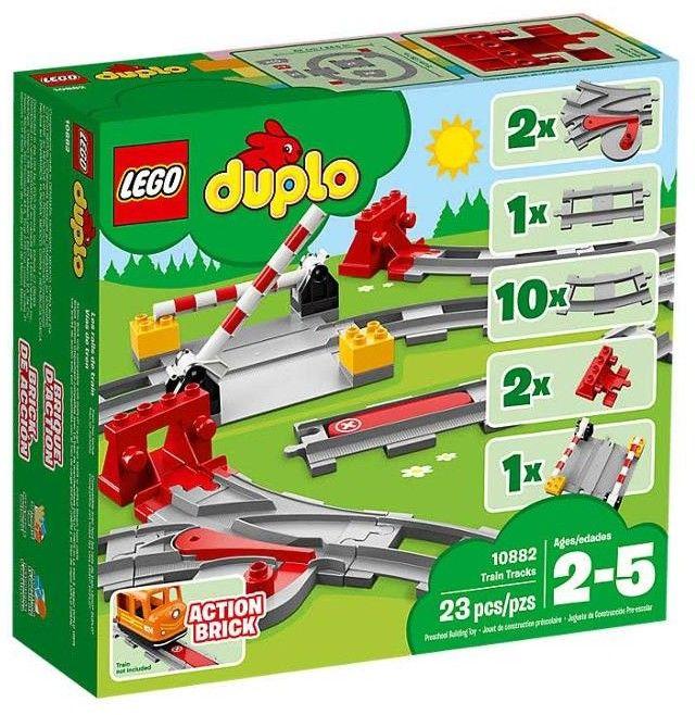 LEGO DUPLO - Tory kolejowe 10882