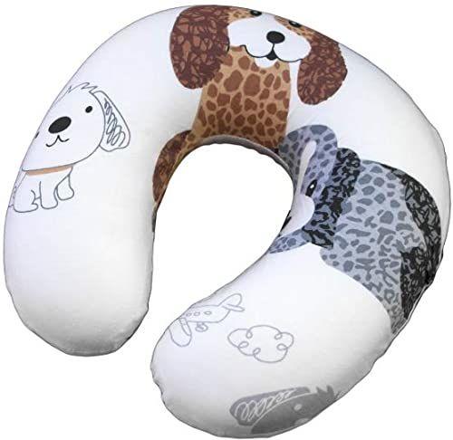Basic Nature Unisex  poduszka pod kark dla dorosłych, w kratkę, jeden rozmiar