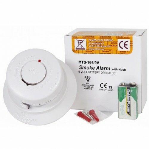 MTS166 Bezprzewodowy optyczny czujnik dymu - Elmes Electronic