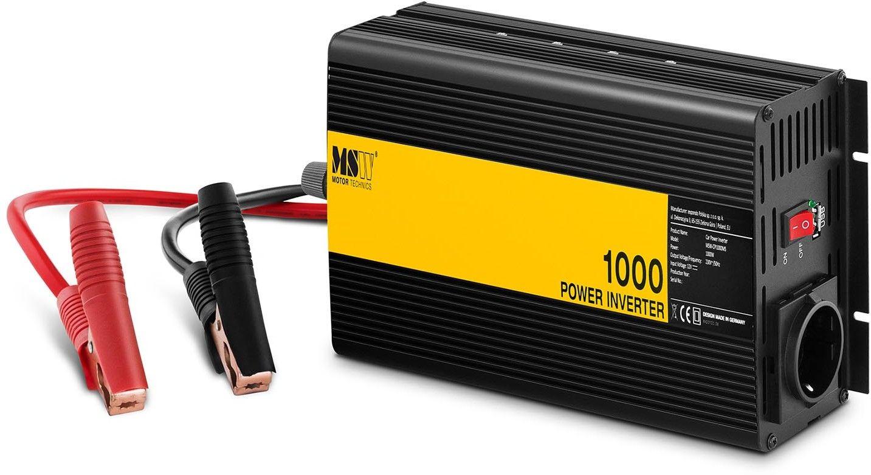 Przetwornica samochodowa - 1000 2000W - MSW - MSW-CPI1000MS - 3 lata gwarancji/wysyłka w 24h