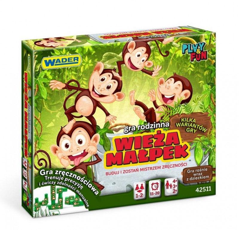 Play&Fun Wieża małpek ZAKŁADKA DO KSIĄŻEK GRATIS DO KAŻDEGO ZAMÓWIENIA