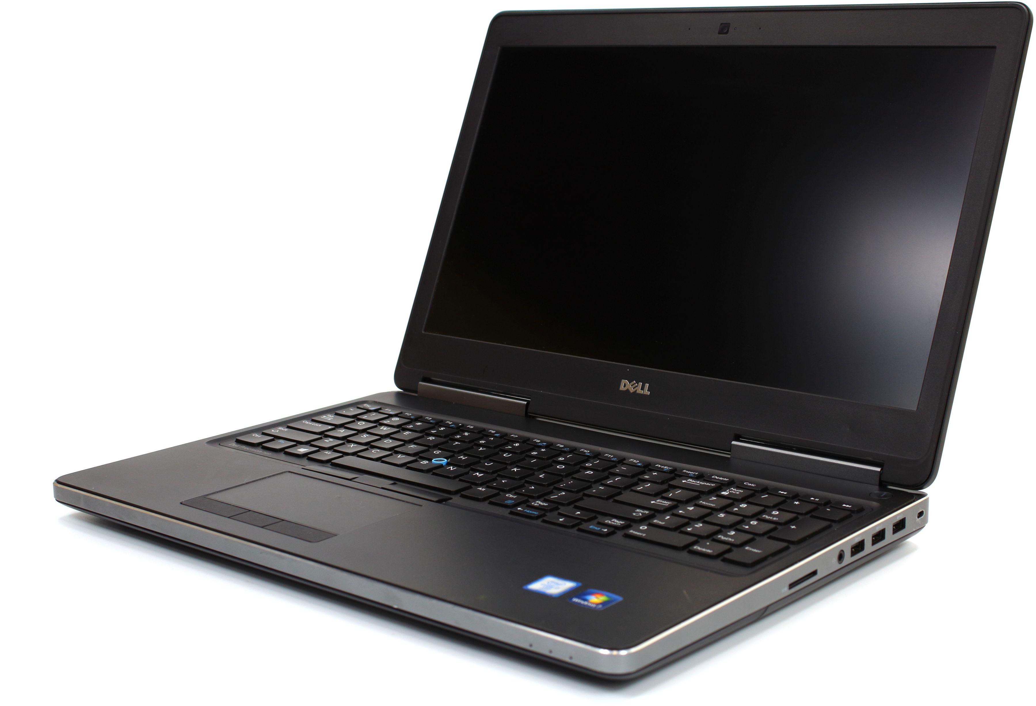 """DELL Precision 7510 15,6"""" FHD IPS i7-6820HQ 32GB 256GB SSD nVidia M2000M - Windows 7 Pro"""
