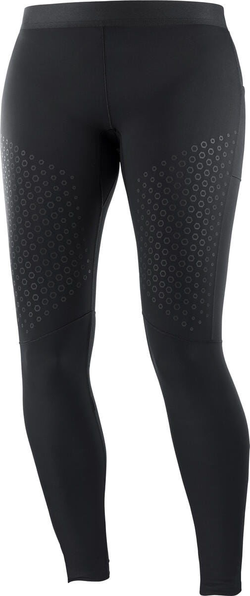 Legginsy Salomon Support Tight W Black