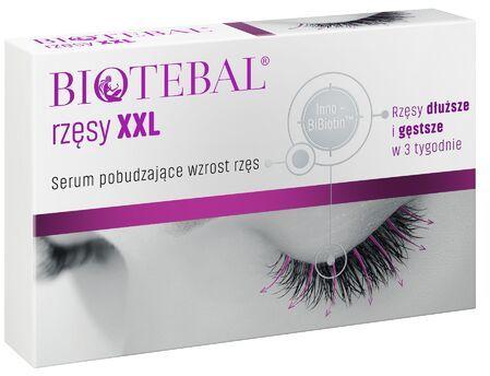 Biotebal rzęsy XXL - Serum pobudzające wzrost rzęs, 3ml