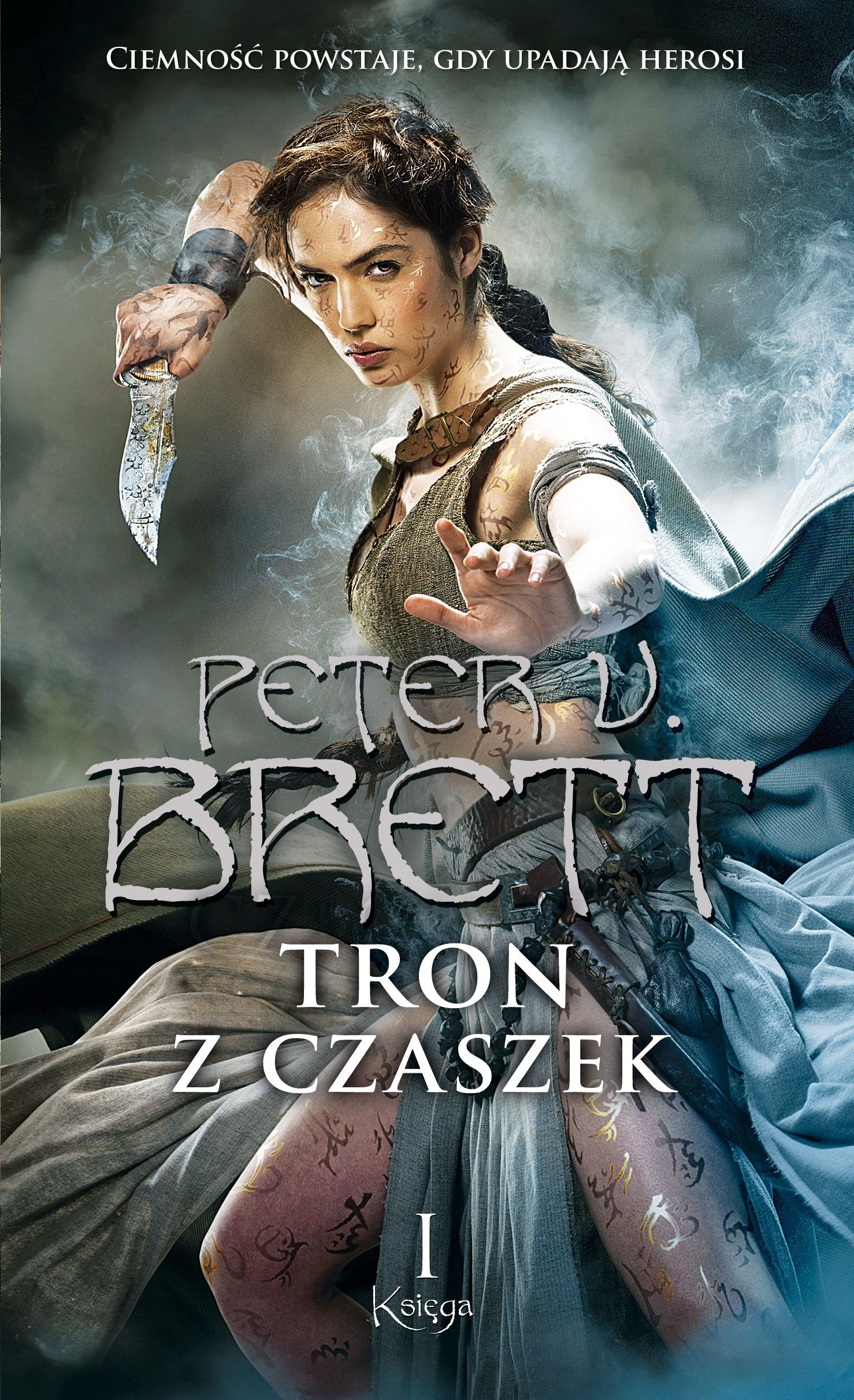 Tron z czaszek. Księga 1 - Peter V. Brett - ebook