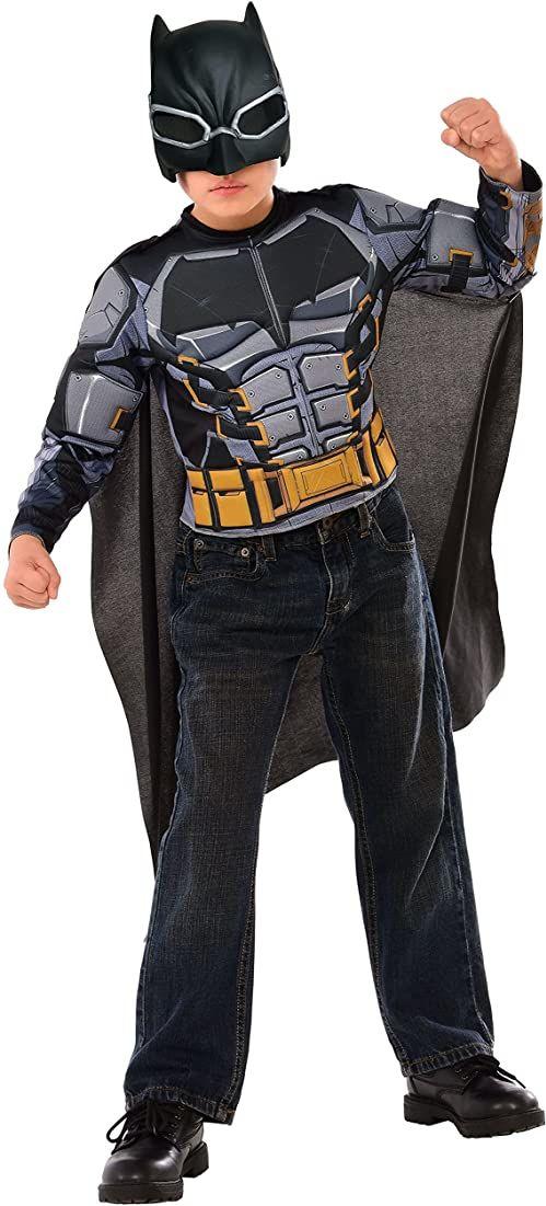 JUSTICE LEAGUE  kostium Batman Armored z piersią musculoso, M (Rubie ''s Spain 34071)