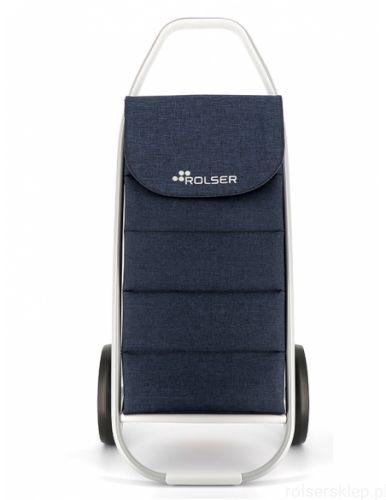 Wózek na zakupy ROLSER COM 8 Tweed Polar Marino