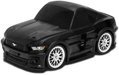 Ford Mustang GT - czarny - Walizka samochód Welly Ridaz