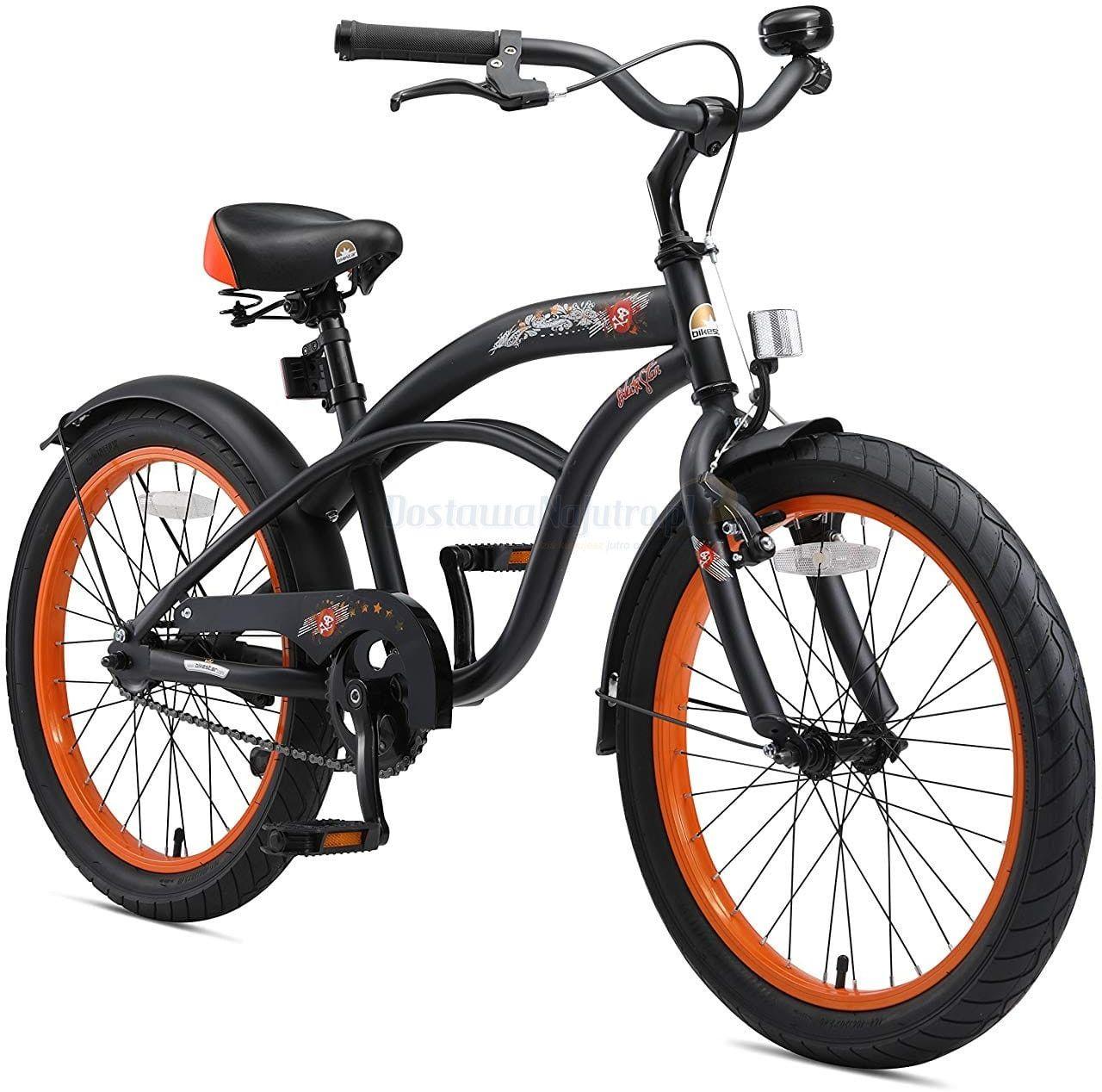 """Rower dla dzieci 20"""" BIKE STAR GERMANY Cruiser czarny"""