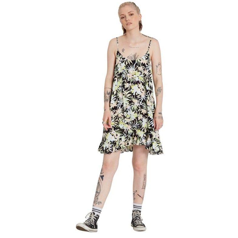 sukienka VOLCOM - Thats My Type Dress Lime (LIM)