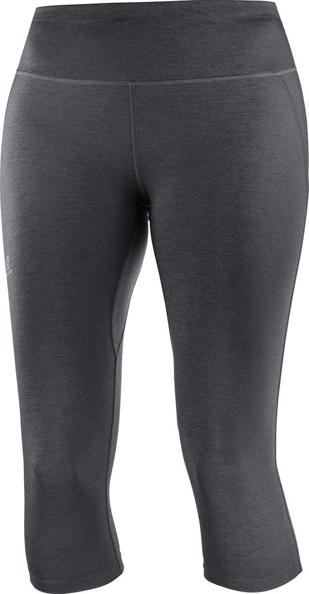 Legginsy Salomon Support Mid Tight W Black