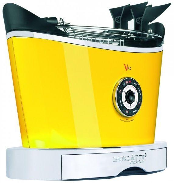 Casa Bugatti - Luksusowy Toster VOLO Żółty