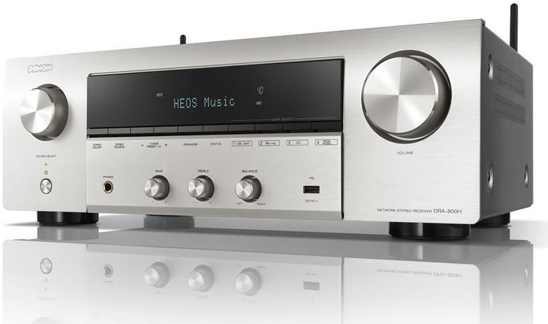Amplituner Stereo Denon DRA-800H Silver HEOS WiFi Raty, Dostawa Gratis, Salon Warszawa