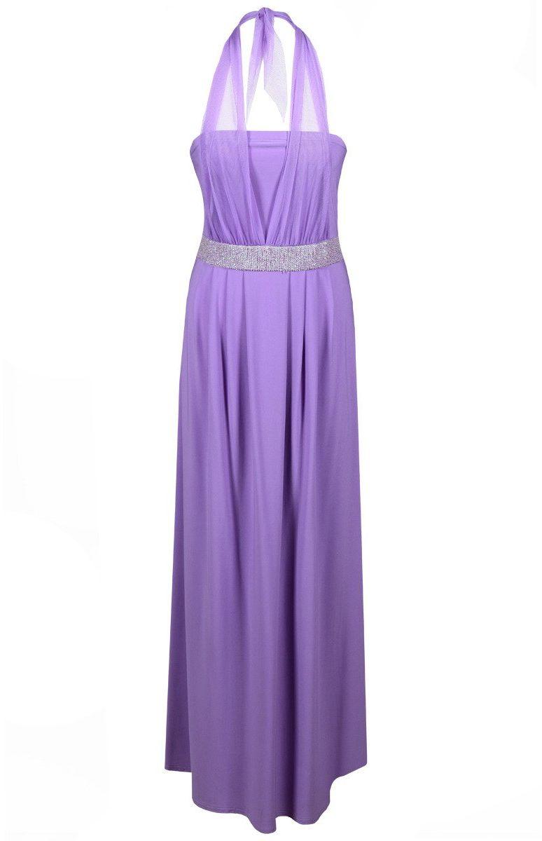 Sukienka FSU111 FIOLETOWY