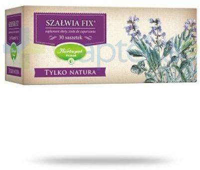 Herbapol Tylko Natura Szałwia Fix zioła do zaparzania 30 saszetek