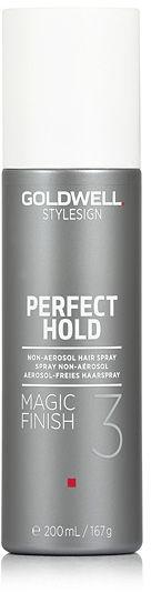 Goldwell Perfect Hold Magic Finish Lakier nabłyszczający - bez aerozolu 200 ml