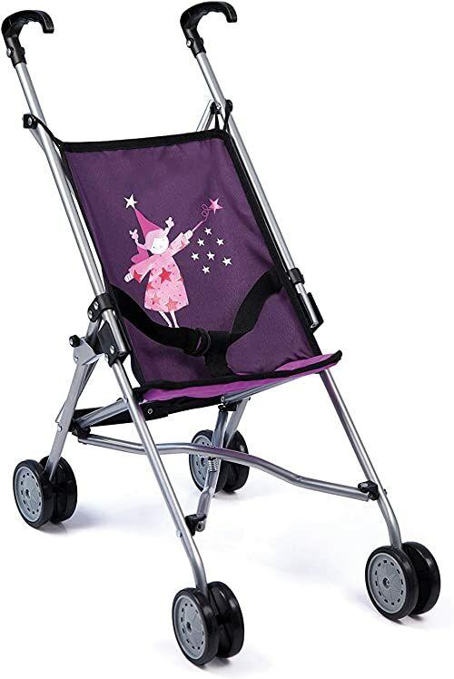 Bayer Design 3011200 Składany Wózek Dla Dzieci, Fioletowy