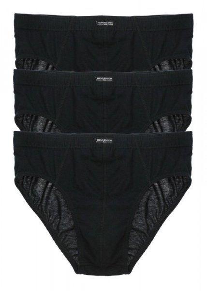 Slipy męskie henderson 1446 czarne (zestaw 3 sztuk)