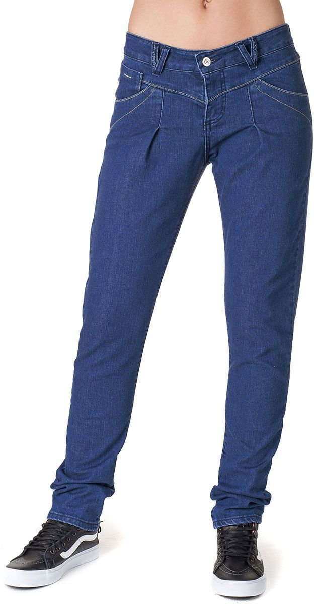 spodnie damskie HORSEFEATHERS LOVE DENIM PANTS (vintage blue)