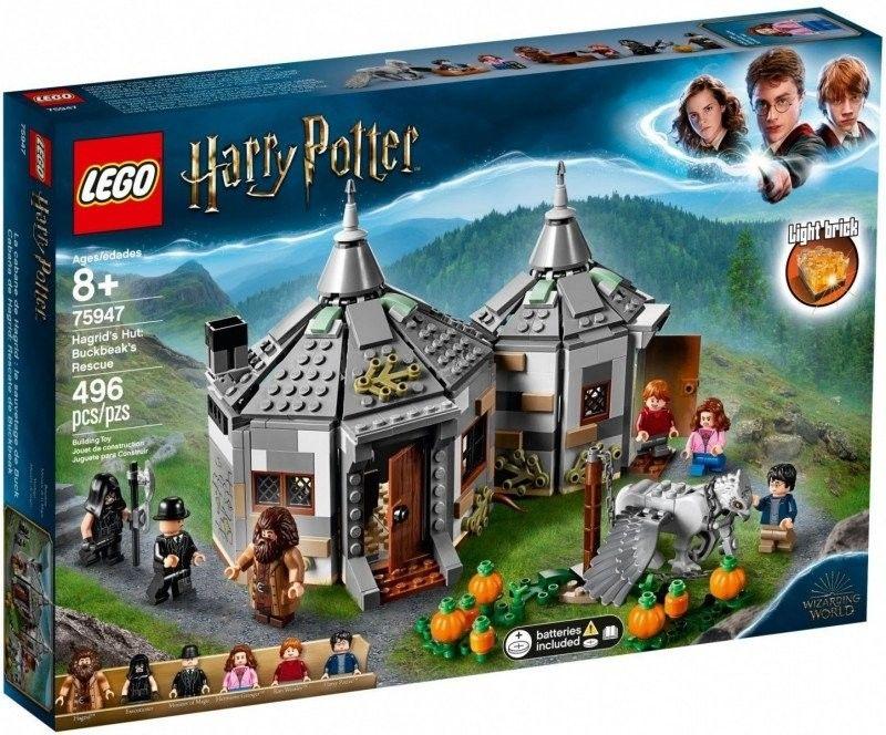 Lego Harry Potter - Chatka Hagrida Na ratunek Hardodziobowi 75947
