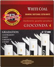 Koh i noor Gioconda Węgiel prasowany 1234 biały 4s
