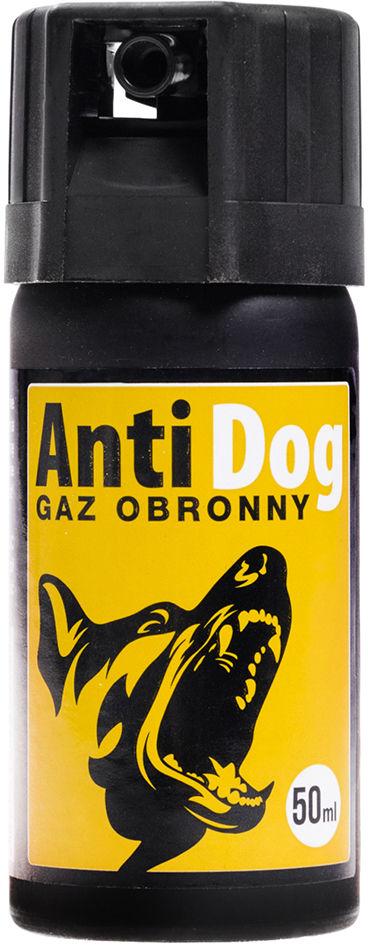 Gaz pieprzowy na psy i wilki AntiDog 50 ml - stożek