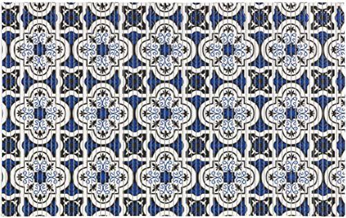 WENKO Murcia, 50 x 80 cm, mata łazienkowa, mata kuchenna, tworzywo sztuczne, wielokolorowa, 50 x 0 x 80 cm