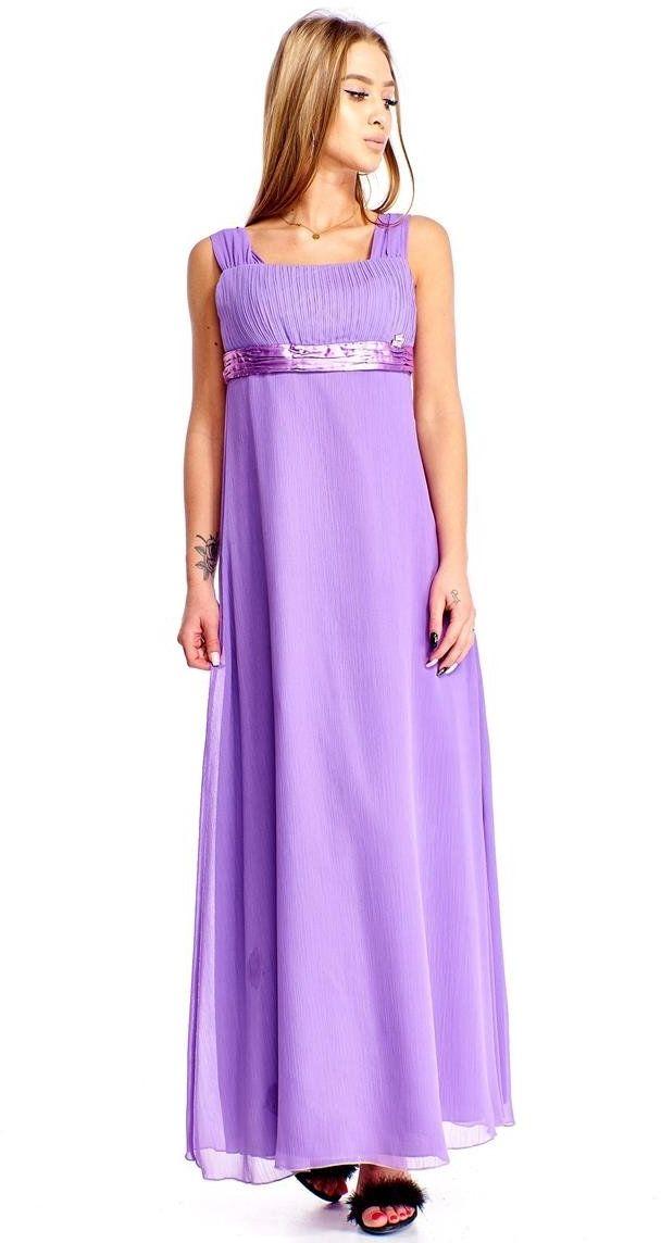 Sukienka FSU158 FIOLETOWY
