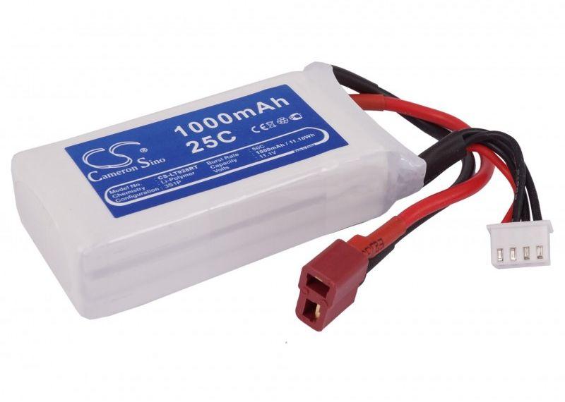 1000mAh 11.10Wh Li-Polymer 11.1V 3S 15C (Cameron Sino)