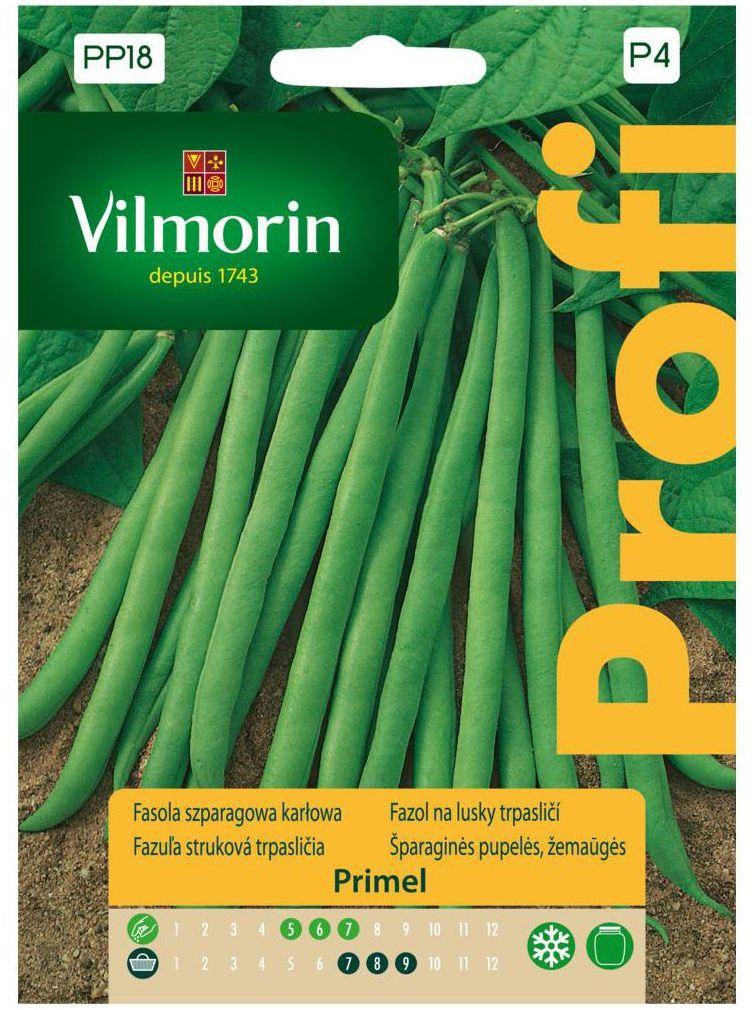 Fasola szparagowa PRIMEL nasiona tradycyjne 30 g VILMORIN