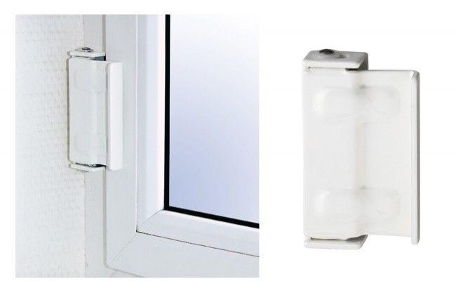 Blokada okienna Abus typ SW2 W C, biała
