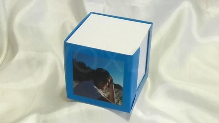 Notes pudełkowy foto