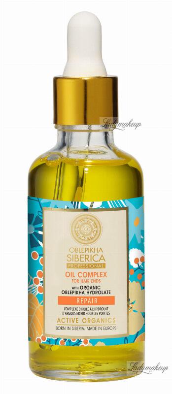 NATURA SIBERICA - Oblepikha Oil Complex For Hair Ends - Wegański rokitnikowy olejek na końcówki włosów - 50 ml
