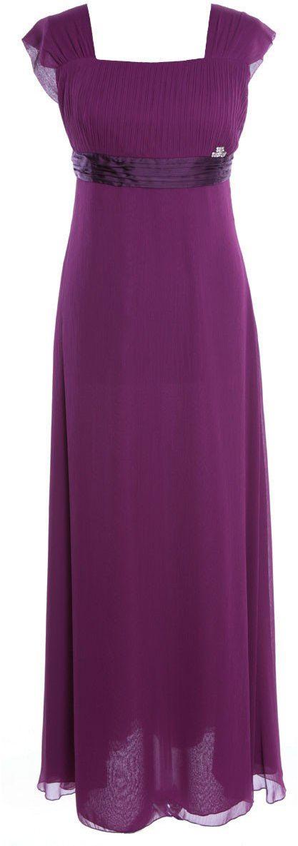 Sukienki Sukienka Suknie FSU158 PURPUROWY